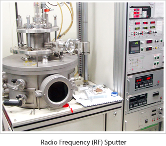 Radio Frequency (RF) Sputter