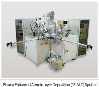Plasma Enhanced Atomic Layer Deposition (PE-ALD) Sputter