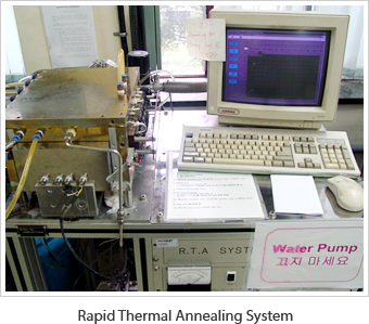 Rapid Thermal Annealing System