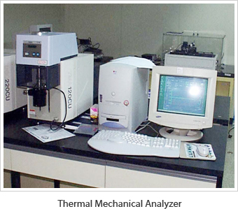 Thermal Mechanical Analyzer