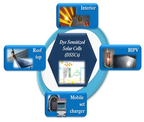 Dye-sensitized solar cells (DSCs