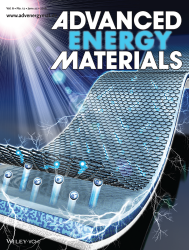 Advanced Energy Materials, 2016 (front cover)