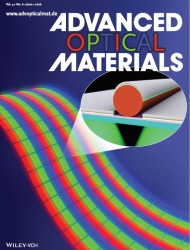 Advanced Optical Materials , 2016, Back cover